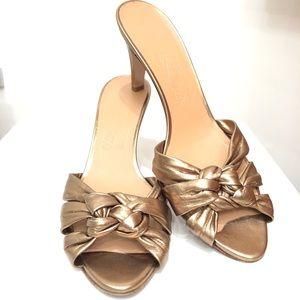 Ferragamo Gold sandal